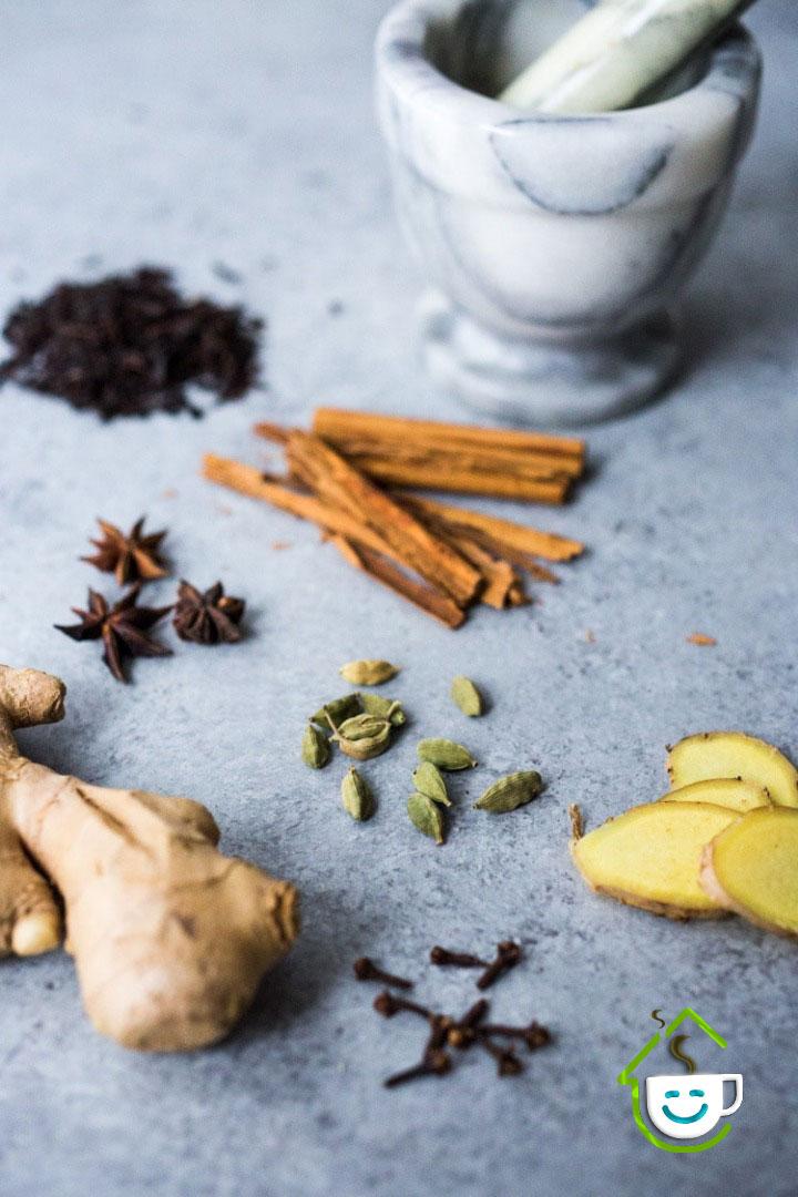 طرز تهیه چای ماسالا - فنجونت