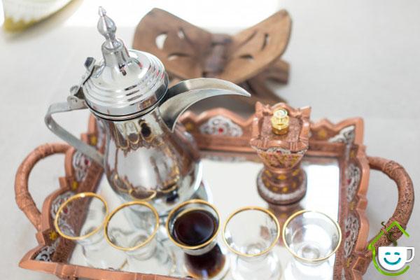 دم کردن قهوه عربی - فنجونت